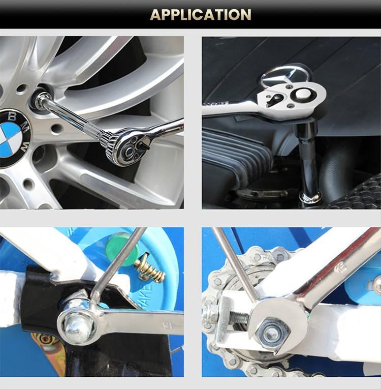 215Pcs Professional Mechanical Repair Socket Wrench Tool Set