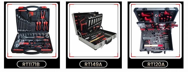 RTTOOL 94pcs Socket Tool Automobile Hand Tools Set Herramientas