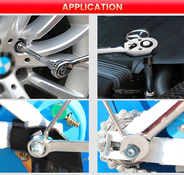 198pcs Car Repair Tools Set with Hand Tools and Socket Sets