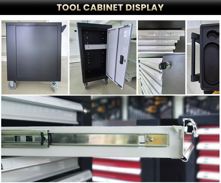 RTTOOL 240Pcs Chest Tools Box Set, Tool Cart Cabinet, Lockable Tool Cabinet