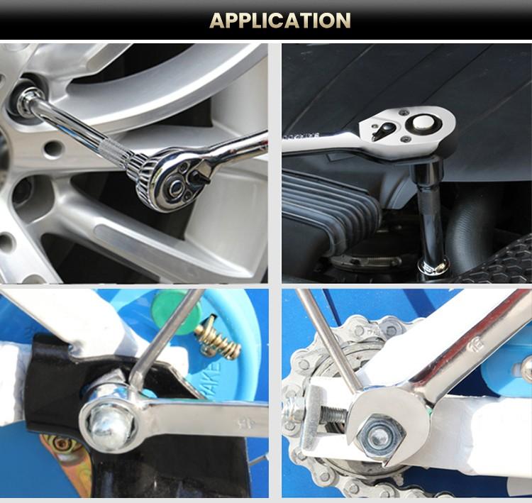 108pcs Professional Socket Screwdriver Bit Set Hand Tool Set