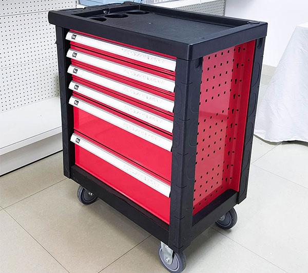 RT 160PCS 6/7 Draws Garage Storage Tool Cabinet Workshop Trolley Toolbox