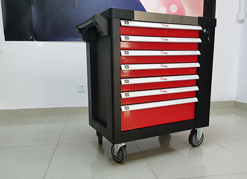 Packaging (tool cart/box/case/bag): appearance shape, style, color