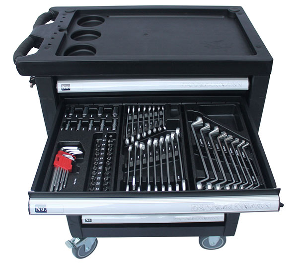 472pcs Hand Tools Metal Tool Chest in Tool Cabinet Steel