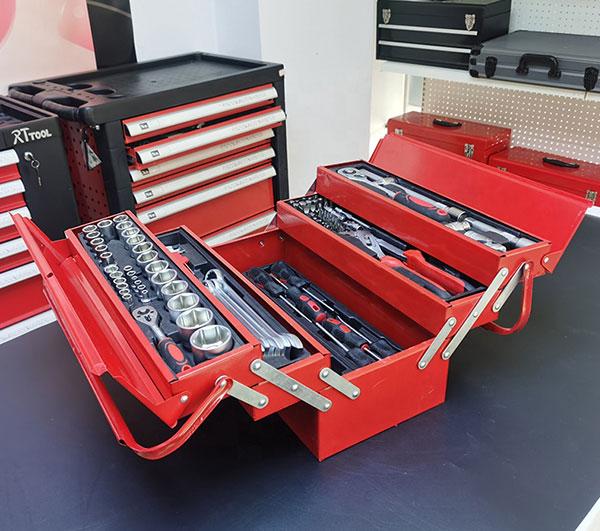 128PCS Iron Case Other Hand Tool Set Folding Tool Kit High Quality Set