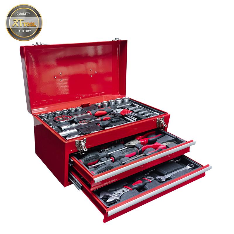 90pcs Super Hand Tools of in Metal Tool Set for Car Repair Tools