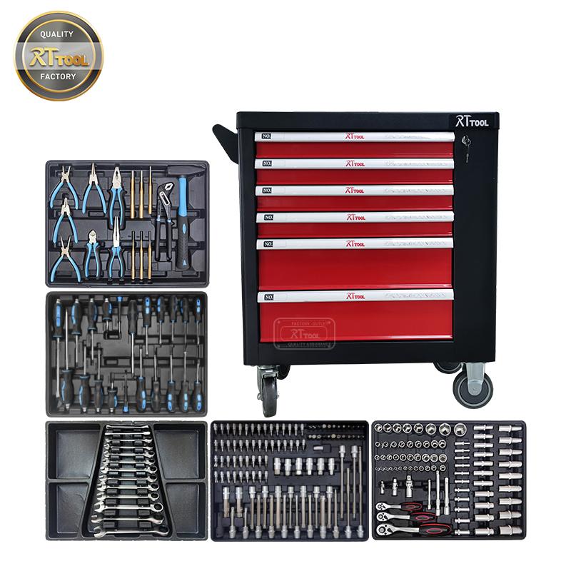 231pcs Workshop garage metal tool cabinet/tool trolley/ tool cart